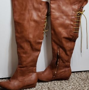 Charlotte Russe Over The Knee Boots Size 8
